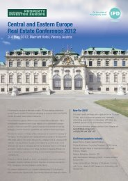 Central and Eastern Europe Real Estate Conference 2012