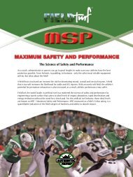 The Science of Safety and Performance