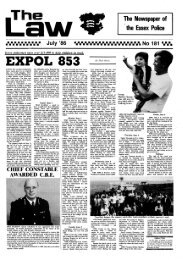 EXPOL 853 - Essex Police
