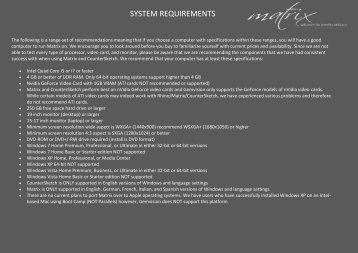 SYSTEM REQUIREMENTS - design-engineering