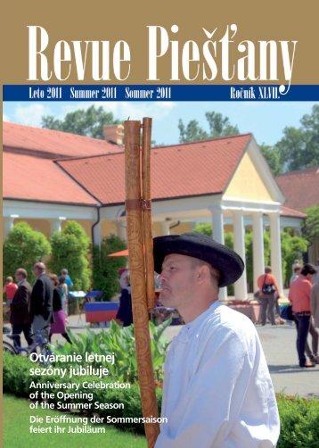 Revue Piestany Leto 2011 - Piešťany