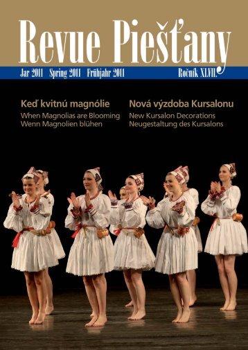 Revue Piestany Jar 2011 - Piešťany