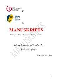 MANUSKRIPTS - Nacionālā identitāte