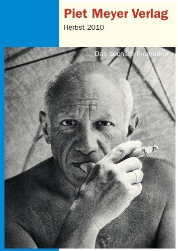 Pablo Picasso in Zürich – 1932 - Piet Meyer