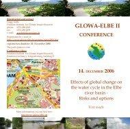 GLOWA-ELBE II - Potsdam Institute for Climate Impact Research