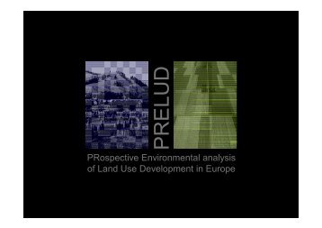 Land Use Scenarios - Potsdam Institute for Climate Impact Research