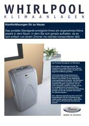 Komfortlösungen für zu Hause Das portable Standgerät ermöglicht ...