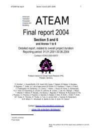 ateam - Potsdam Institute for Climate Impact Research