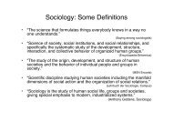 Sociology - Potsdam Institute for Climate Impact Research