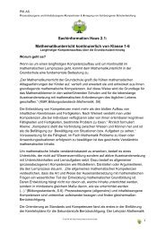 Sachinformation Haus 2.1 - PIK AS - TU Dortmund