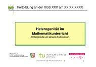 Mathematikunterricht in heterogenen Lerngruppen - PIK AS - TU ...