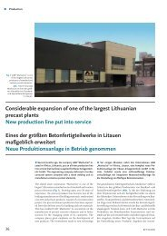 Considerable expansion of one of the largest Lithuanian precast ...