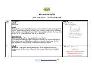 Moderationspfad - PIK AS