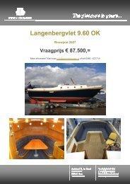 Technische specificaties - Pikmeerkruiser