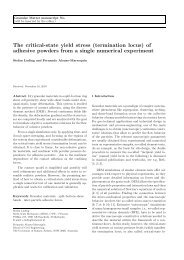 The critical-state yield stress (termination locus) of adhesive ...