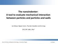 A tool to evaluate mechanical interaction between particles ... - PiKo
