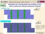 Übersichtsbeitrag - PIKO - Partikel im Kontakt