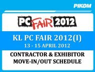 KL PC FAIR 2012(I) - Pikom