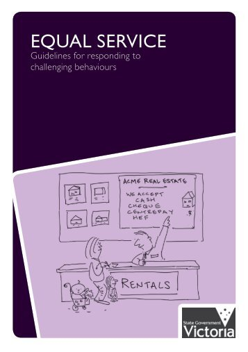 Equal Service: Guidelines for responding to challenging ... - pilch