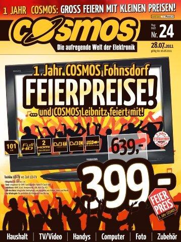 1 Jahr COSMOS Fohnsdorf 1 Jahr COSMOS ... - EKZ  Weinland