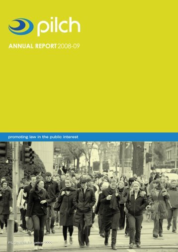 Annual Report 2008-2009 - pilch