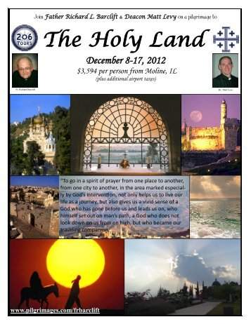 The Holy Land - 206 Tours