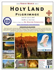 Holy Land Pilgrimage - 206 Tours