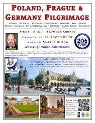 poland, prague & germany pilgrimage april 8 - 19, 2013 - 206 Tours