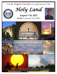 Holy Land - 206 Tours