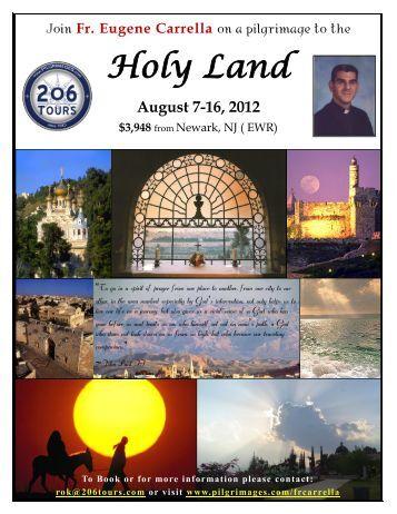 Holy Land - 206 Tours