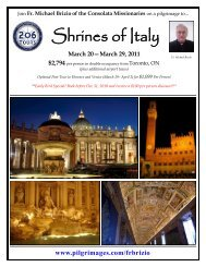 Shrines of Italy - 206 Tours