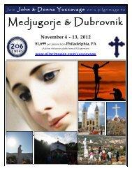 Medjugorje & Dubrovnik - 206 Tours