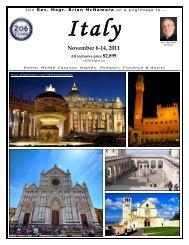 November 6-14, 2011 - 206 Tours