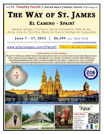 the way of st. james el camino - spain! - 206 Tours