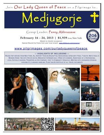 Medjugorje - 206 Tours