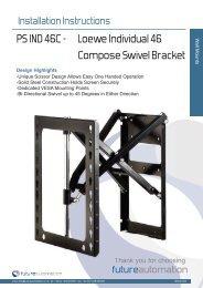 PS IND 46C - Loewe Individual 46 Compose Swivel ... - Pilote Films