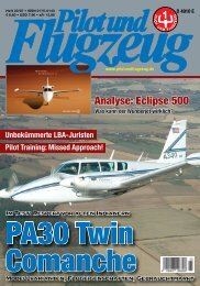 Pilot und Flugzeug Ausgabe 2007/03
