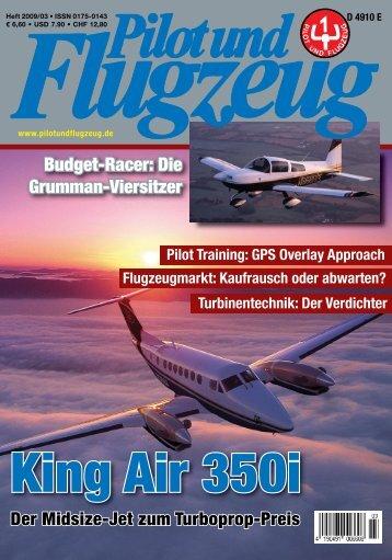 Über die Grumman-Flugzeuge - Pilot und Flugzeug