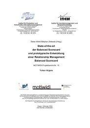 State-of-the-art der Balanced Scorecard und prototypische ...