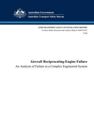 Aircraft Reciprocating-Engine Failure - Pilot und Flugzeug