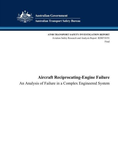 Aircraft Reciprocating Engine Failure Pilot Und Flugzeug
