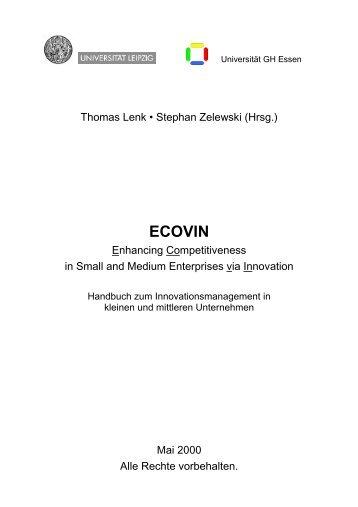 ECOVIN - Institut für Produktion und Industrielles ...