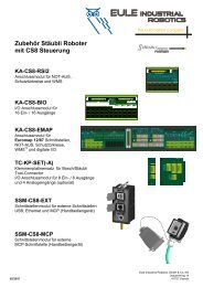 SSM-CS8-EXT - eule-roboter.de