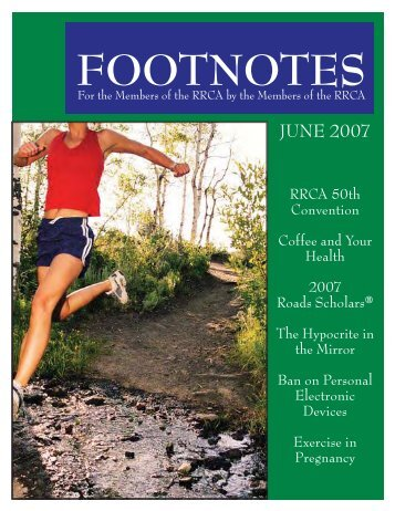 Footnotes June 07.indd - Pine Belt Pacers