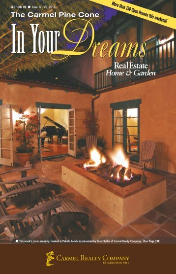 Carmel Pine Cone, June 17, 2011 (real estate) - The Carmel Pine ...