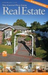 Carmel Pine Cone, September 17, 2010 (real estate) - The Carmel ...