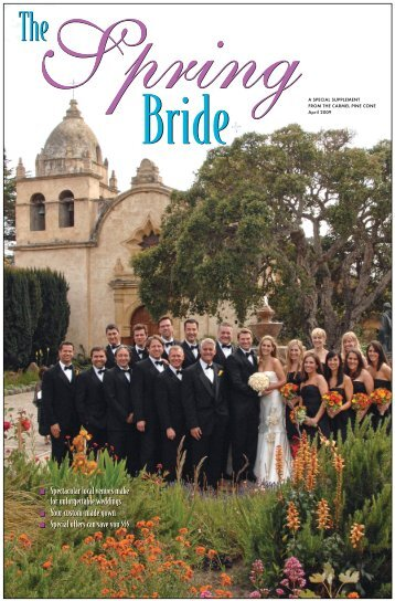Carmel Pine Cone, April 24, 2009 (spring bride) - The Carmel Pine ...