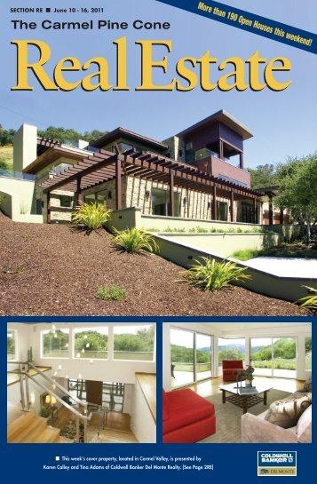 Carmel Pine Cone, June 10, 2011 (real estate) - The Carmel Pine ...