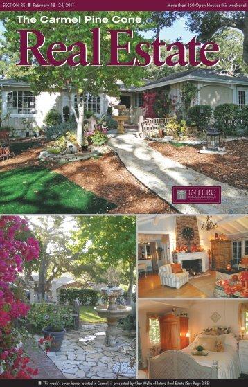 Carmel Pine Cone, February 18, 2011 (real estate) - The Carmel ...