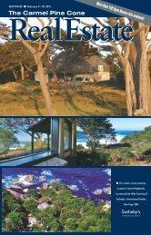 Carmel Pine Cone, February 4, 2011 (real estate) - The Carmel Pine ...